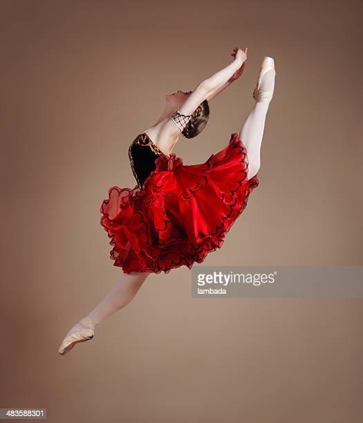 Primaballerina springen