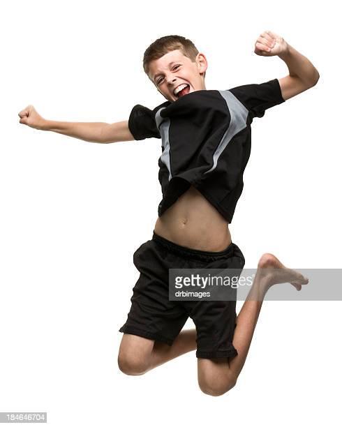 Garçon de saut