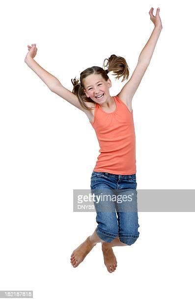 Jumping für Freude