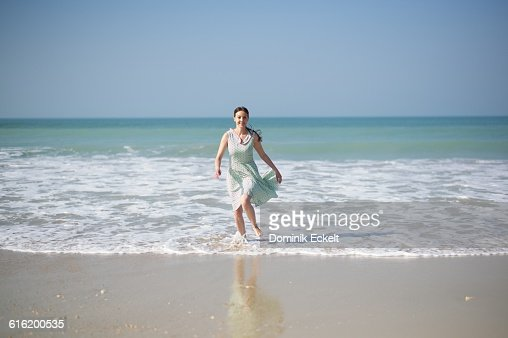 Jumping out of the sea