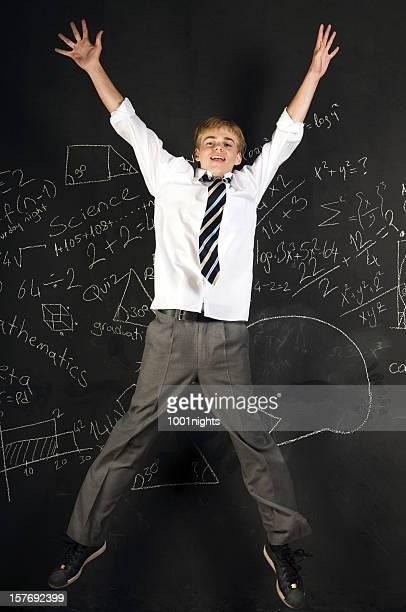 Jumping Schulkind-Nur Jungen
