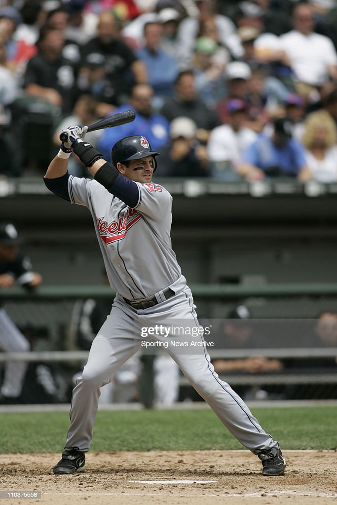 Jun 10, 2006; Chicago, IL, USA; The Cleveland Indians AARON BOONE against the Chicago White Sox at U.S. Cellular Field in Chicago, IL, on June 10, 2006. Chicago beat Cleveland, 4-3.