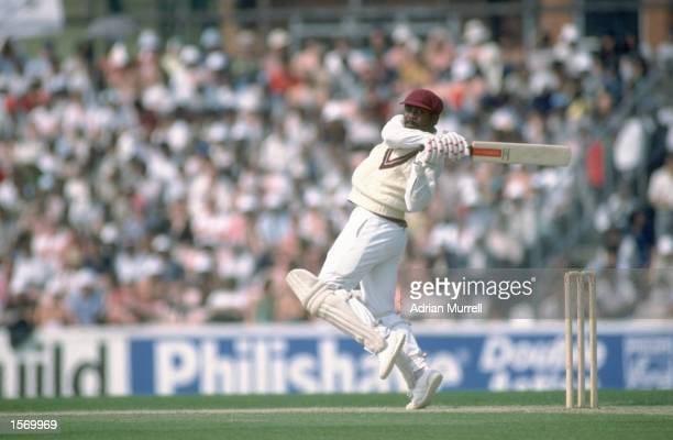Gordon Greenidge of the West Indies batting during the World Cup semifinal at the Oval In London Mandatory Credit Adrian Murrell/Allsport