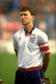 Bryan Robson captains England in the International friendly against Denmark in Copenhagen Denmark The game ended in a 11 draw Mandatory Credit Ben...