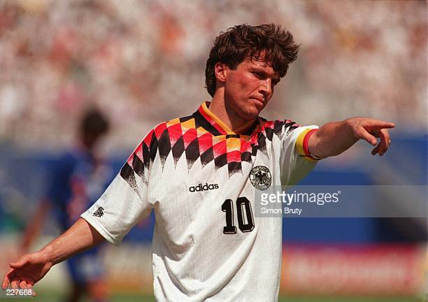 LOTHAR MATTHAEUS OF GERMANY DURING GERMANY