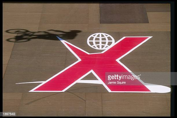 General view of logo for the ESPN XGames at Mariner''s Point in San Diego California