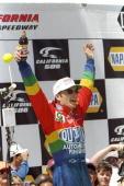 Jeff Gordon wins at the California 500 at the California Speedway in Fontana California Mandatory Credit Craig Jones /Allsport