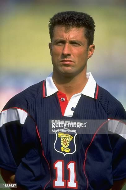 Portrait of John Collins of Scotland before a Friendly match against Malta at the Ta''Qali Stadium in Malta Scotland won the match 32 Mandatory...