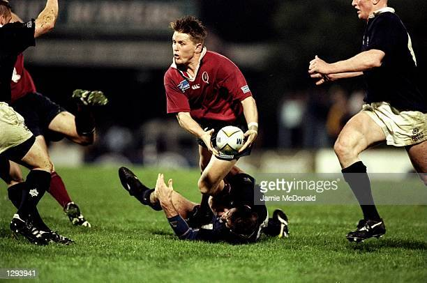Elton Flatley of Queensland in action during a summer tour match against Scotland in Ballymore Australia Queensland won the match 2722 Mandatory...