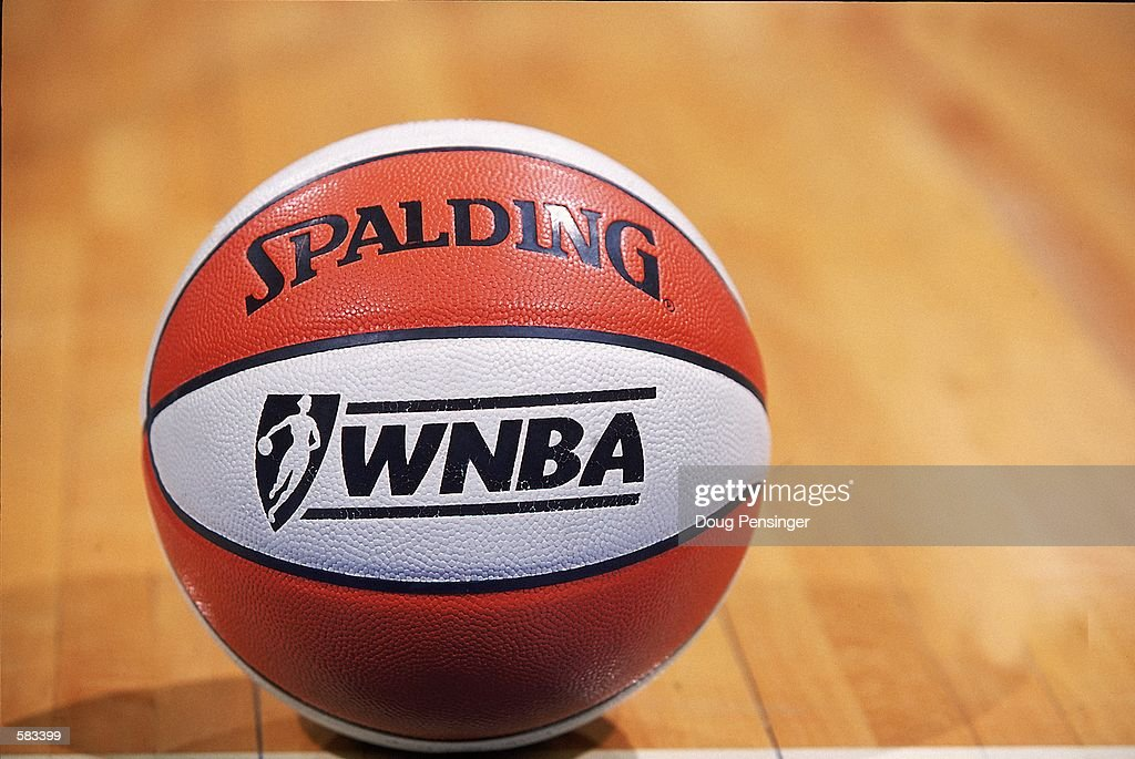 A shot of the WNBA Basket Ball during the game between the Washington Mystics and the Sacramento Monarchs at the MCI Center in Washington DC The...