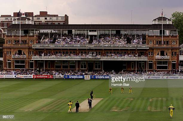 General view of play during the oneday tour match between Middlesex and Australia at Lords Cricket Ground London England DIGITAL IMAGE Mandatory...