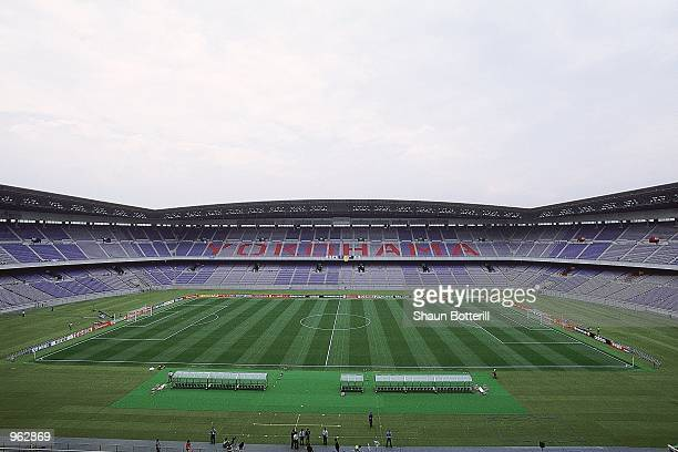 General view of the International Stadium Yokohama in Japan one of the venues for the 2002 World Cup Mandatory Credit Shaun Botterill /Allsport