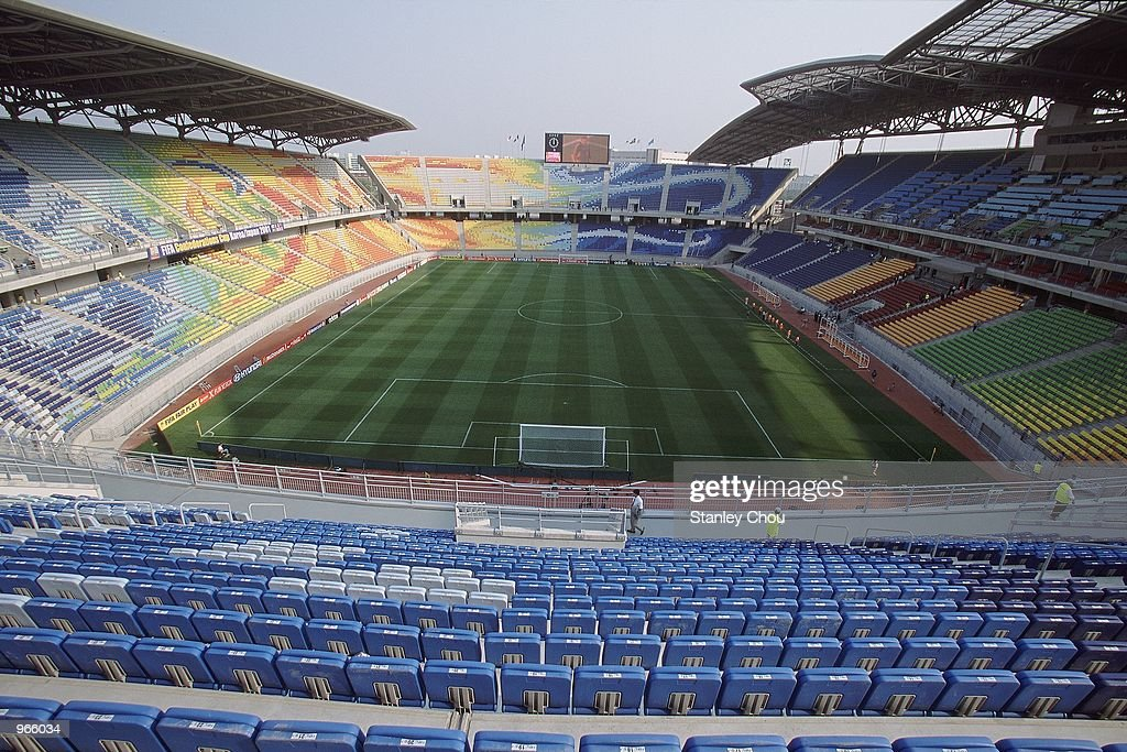 General view of the Suwon World Cup Stadium in Suwon Korea one of the venues for the 2002 World Cup Mandatory Credit Stanley Chou /Allsport