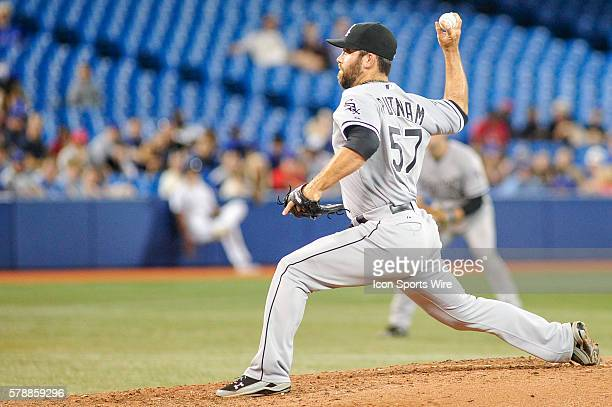 Chicago White Sox pitcher Zach Putnam pitching in the 8th inning The Chicago White Sox defeated the Toronto Blue Jays 5 4 at the Rogers Centre...