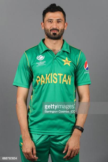 Junaid Khan of Pakistan poses during the portrait session at the Malmaison Hotel on May 26 2017 in Birmingham England