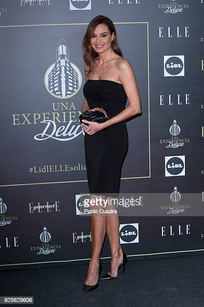 Juncal Rivero attends a benefit dinner promoted by Lidl and ELLE at Capitol Cinema on November 24 2016 in Madrid Spain