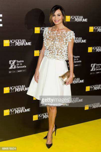 Juncal Rivero attends 'Academia del Perfume' awards 2017 at Teatro de la Zarzuela on May 22 2017 in Madrid Spain