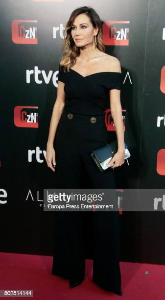 Juncal Rivero attends 'Corazon' TV Programme 20th Anniversary at Alma club on June 27 2017 in Madrid Spain