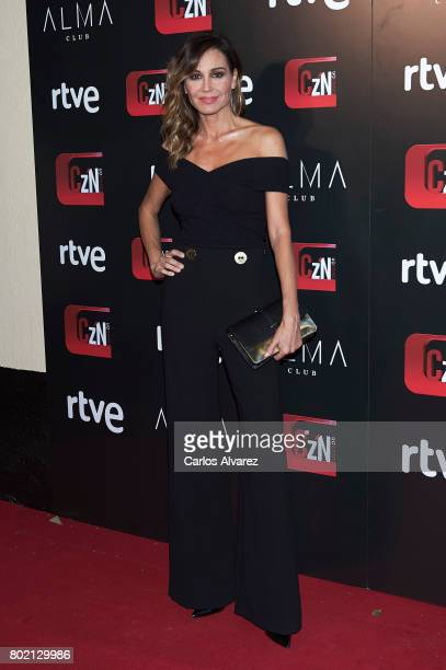 Juncal Rivero attends 'Corazon' TV programme 20th Anniversary at the Alma club on June 27 2017 in Madrid Spain