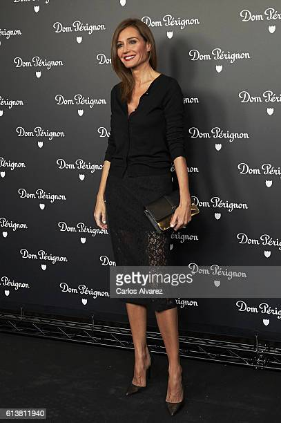Juncal Rivero attends 'Dom Perignon' party on October 10 2016 in Madrid Spain