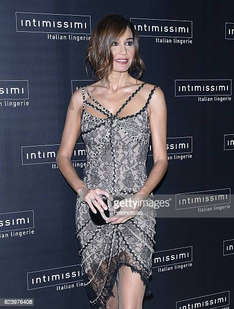 Juncal Rivero attends 'Intimissimi' 20th anniversary party at the Italian Embassy on November 17 2016 in Madrid Spain