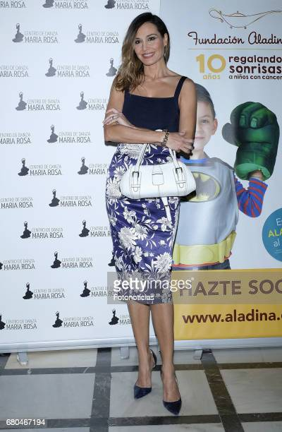 Juncal Rivero attends the Aladina Foundation Spanish dance charity gala at the Lope de Vega Theatre on May 8 2017 in Madrid Spain