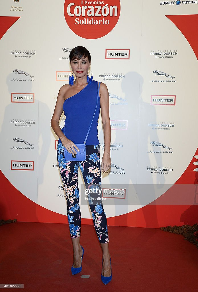 Juncal Rivero attends the 'Corazon Solidario' 2014 awards ceremony at Miguel Angel Hotel on July 2, 2014 in Madrid, Spain