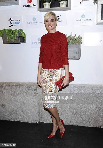 Juncal Rivero attends the David Christian boutique opening on March 12 2014 in Madrid Spain