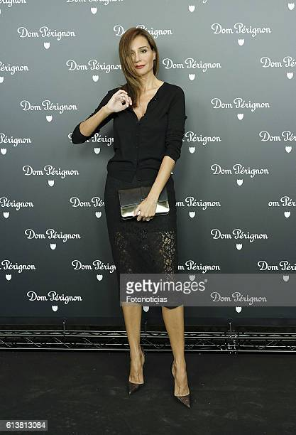 Juncal Rivero attends the Dom Perignon party on October 10 2016 in Madrid Spain