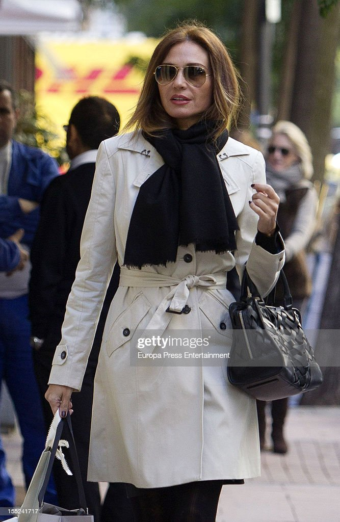 Juncal Rivero is seen on November 2, 2012 in Madrid, Spain.