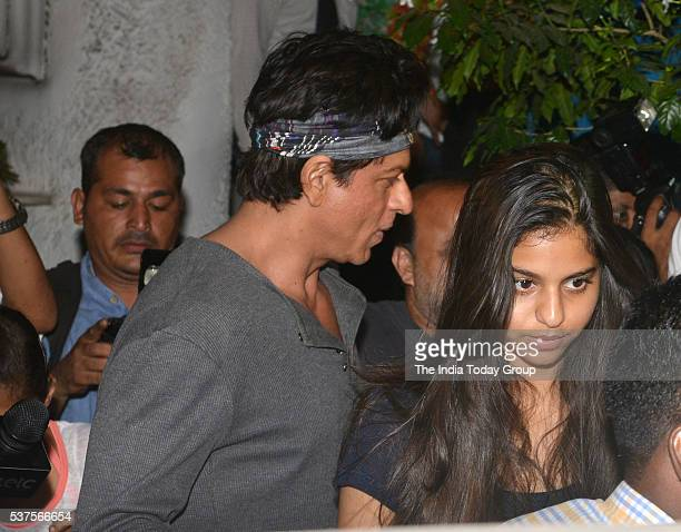 Suhana Khan and Shah Rukh Khan Spotted At Olive Bar in Mumbai