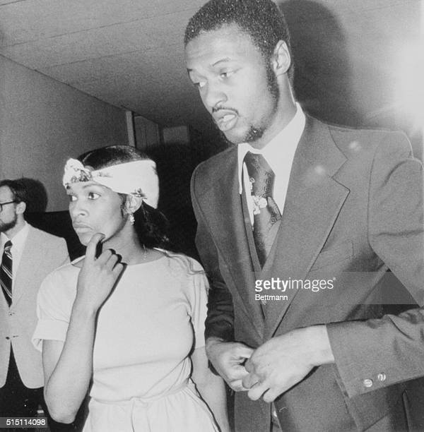 June 10 1976 Philadelphia Philadelphia 76ers second year forward Joe Bryant and his wife enter a Philadelphia courtroom Bryant was found innocent of...