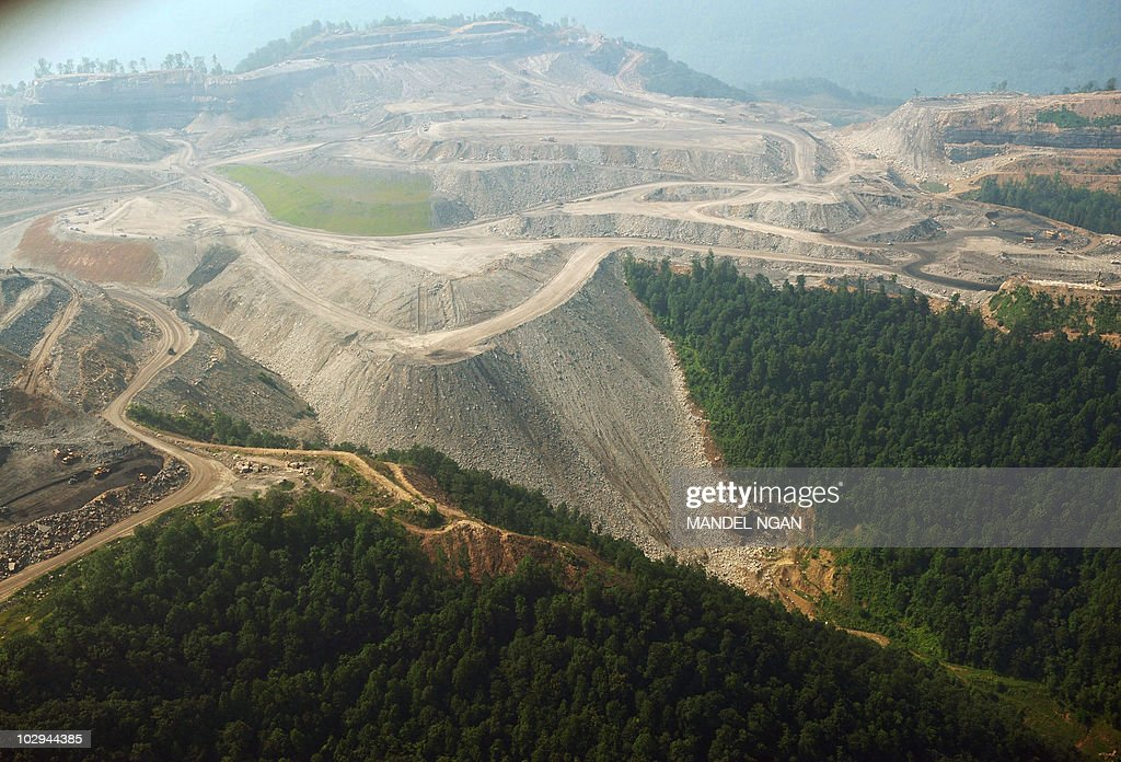 A June 13 2008 photo shows a large mountaintop coal mining operation in West Virginia Mountaintop removal mining referred to in coal the industry as...