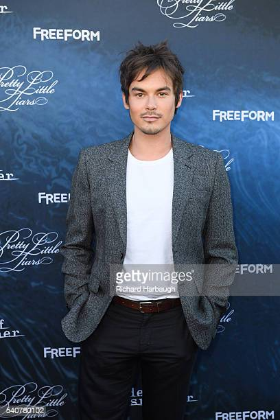 FREEFORM June 15 2016 'Pretty Little Liars' and 'Dead of Summer' premiere event at the Hollywood Forever Cemetery BLACKBURN