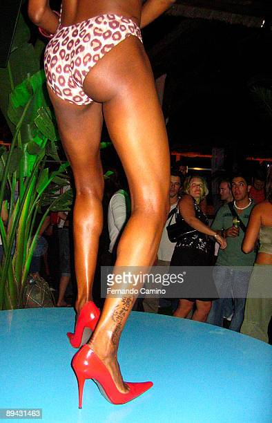 June 16 2005 Pozuelo de Alarcon Madrid Inauguration of a new summer terrace in Madrid This is a exotic terrace with a zone of bali beds and a dance...