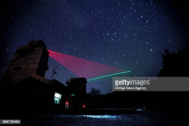 HEFEI June 16 2017 Photo taken on Nov 26 2016 shows a quantum communication ground station in Xinglong north China's Hebei Province Chinese...