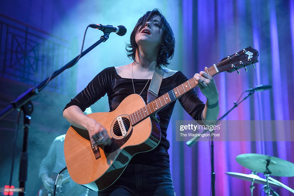 C June 17th 2014 Sharon Van Etten performs at the 930 Club in Washington DC In May Van Etten released her fourth studio album Are We There to...