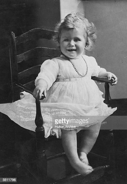 A portrait of Princess Elizabeth daughter of the Duke and Duchess of York
