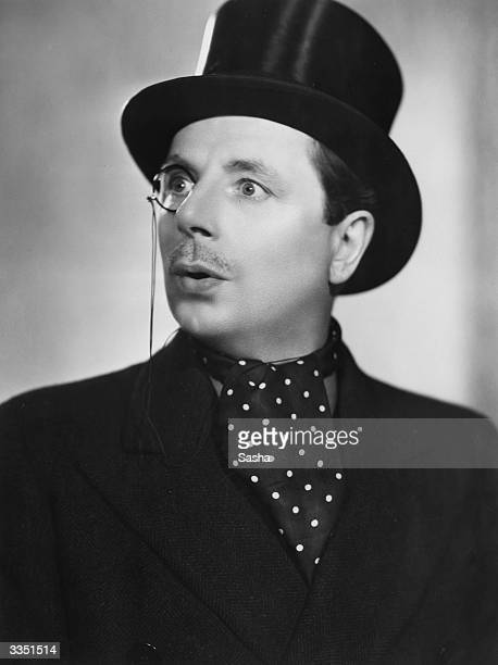 The actor Billy Leonard in the P G Wodehouse play 'Anything Goes' at the Palace Theatre