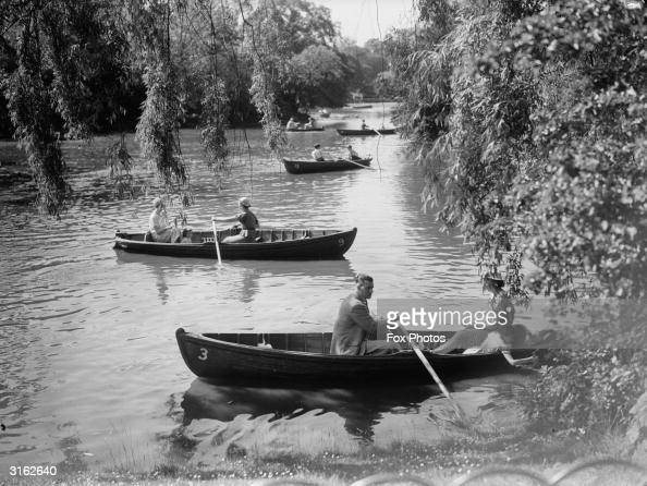 Boating At Dulwich Pictures Getty Images