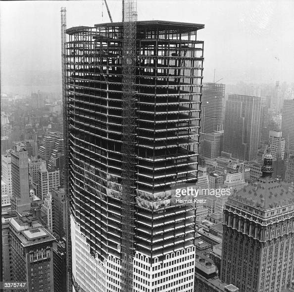Pan am building pictures getty images for American house construction
