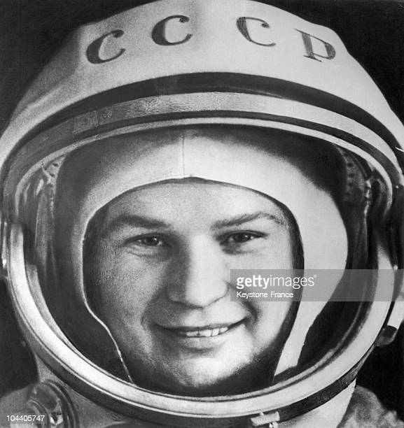 June 1963 portrait of the Russian spacewoman Valentina TERESHKOVA She became the first woman to fly into space