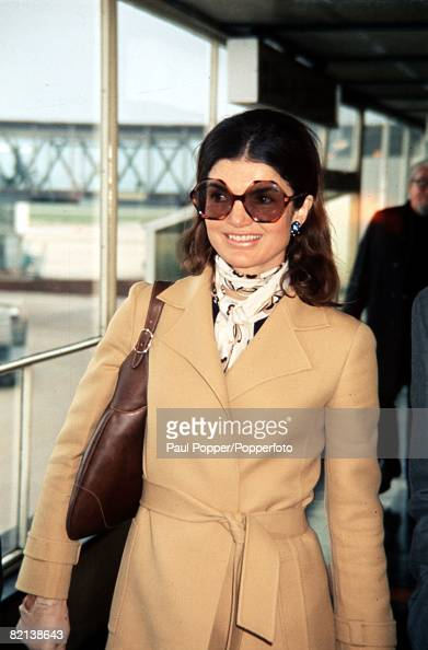 June 1971 A picture of Jacqueline Onassis the former First Lady when she was married to President of the USA John F Kennedy and wife of Greek...