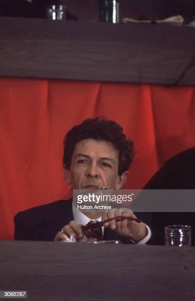 Italian Communist leader Berlinguer