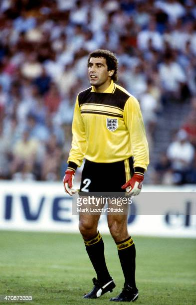 29 June 1982 Fifa World Cup Second Round Germany v England England goalkeeper Peter Shilton
