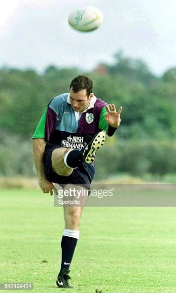 15 June 1999 Ireland's Girvan Dempsey during squad training Ireland Rugby Squad Training Palmarya Rugby Club Western Australia Australia Picture...