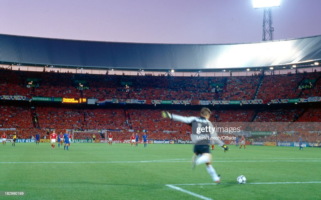 16 June 2000 Euro Championships Denmark v Netherlands A general view of the Feijenoord Stadium