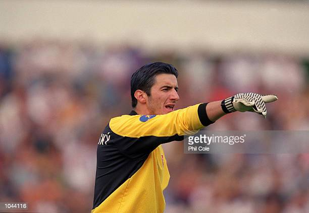 Kamil Contofalsky of Slovakia during the European Under 21's Championships 2000 against Spain at the Inter Stadium Bratislava SlovakiaSpain won 10...