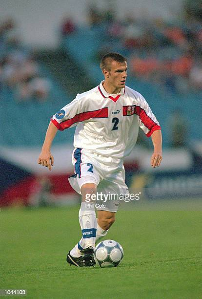 Lukas Dosek of Czech Republic in action during the European Under 21's Championships Final against Italy at the Slovan Stadium Bratislava Slovakia...