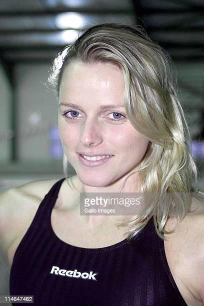 21 June 2001 South African swimmer Charlene Wittstock